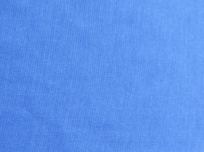 Electric blue fabric Vintage dress material by the METRE Tubular knit Nautical